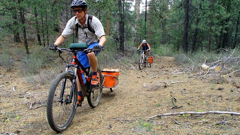 mountain biking Bend Oregon
