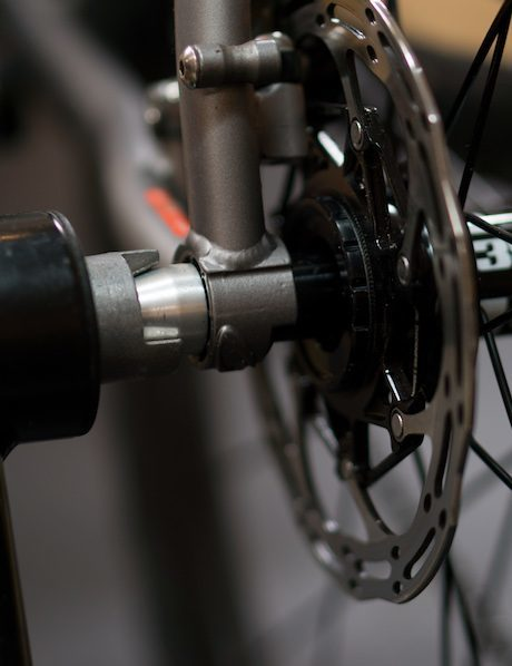 thru axle on bike trainer